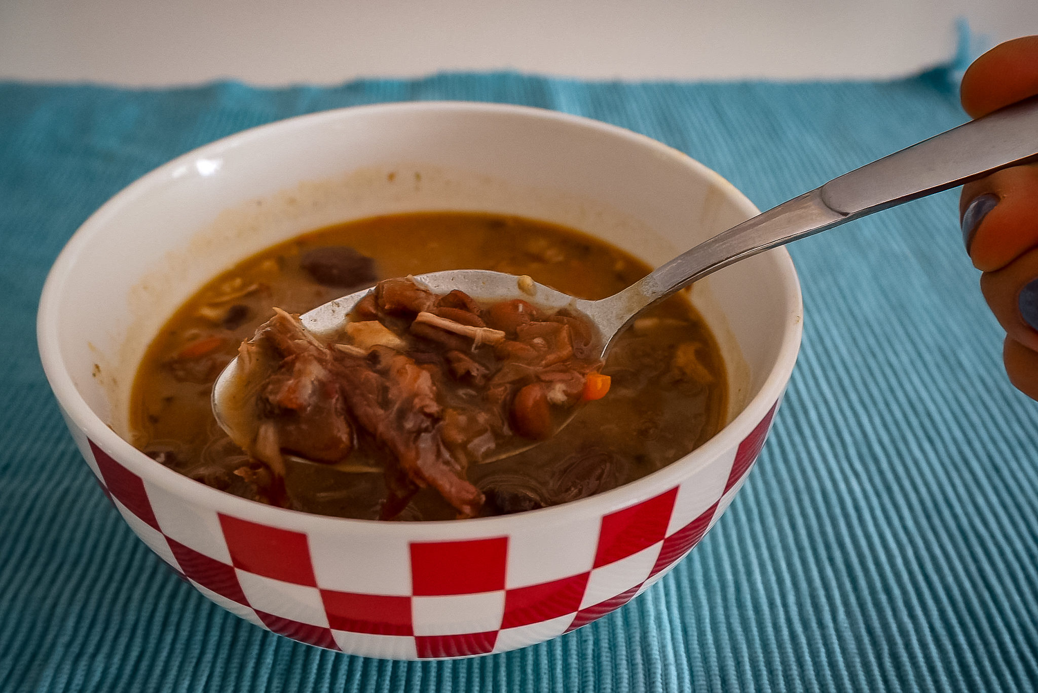 Croatian cuisine - bean soup