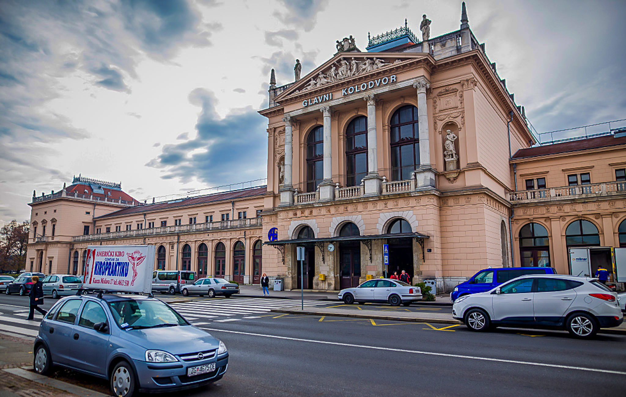 Main train station Zagreb