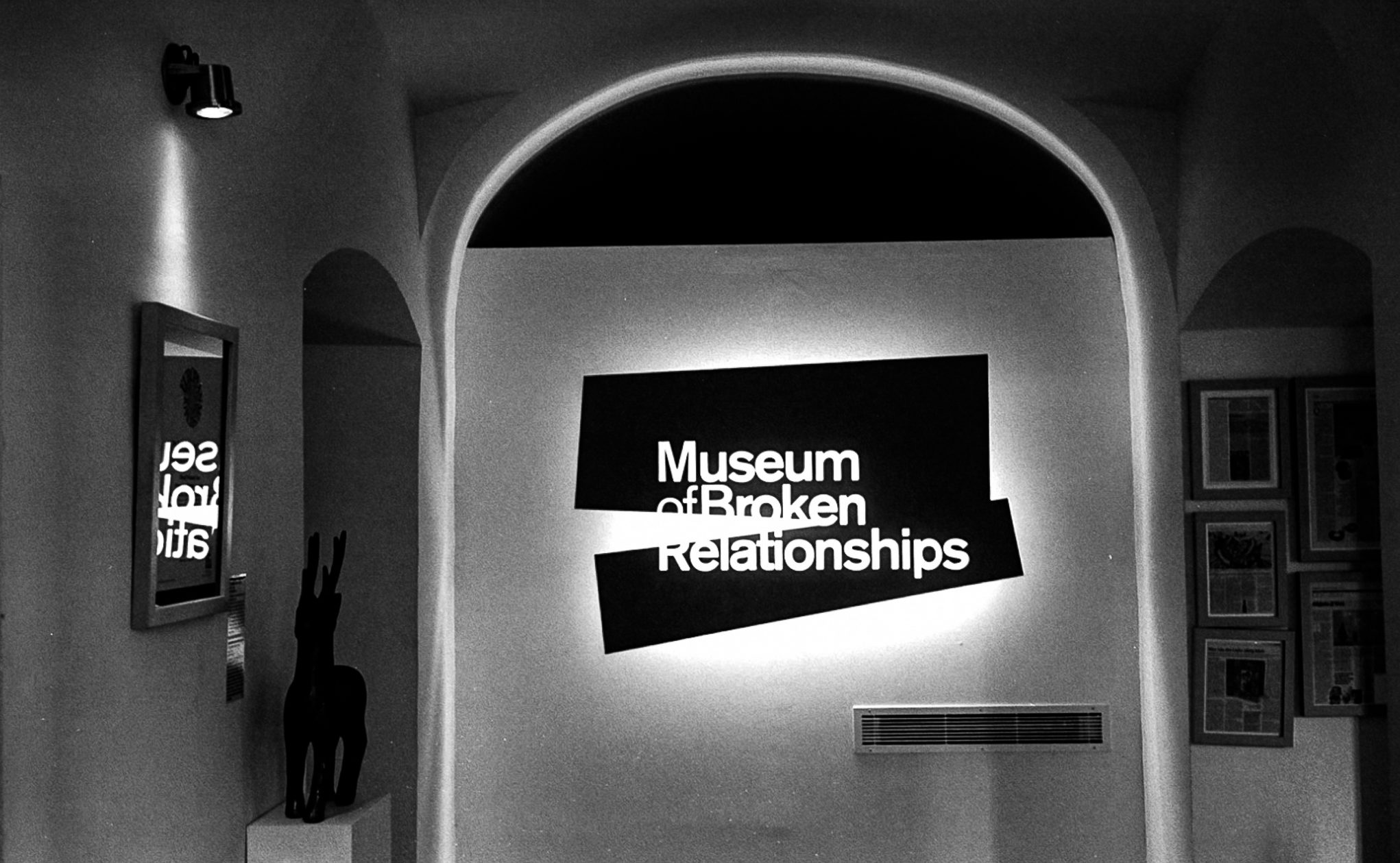 Broken relationships museum Zagreb