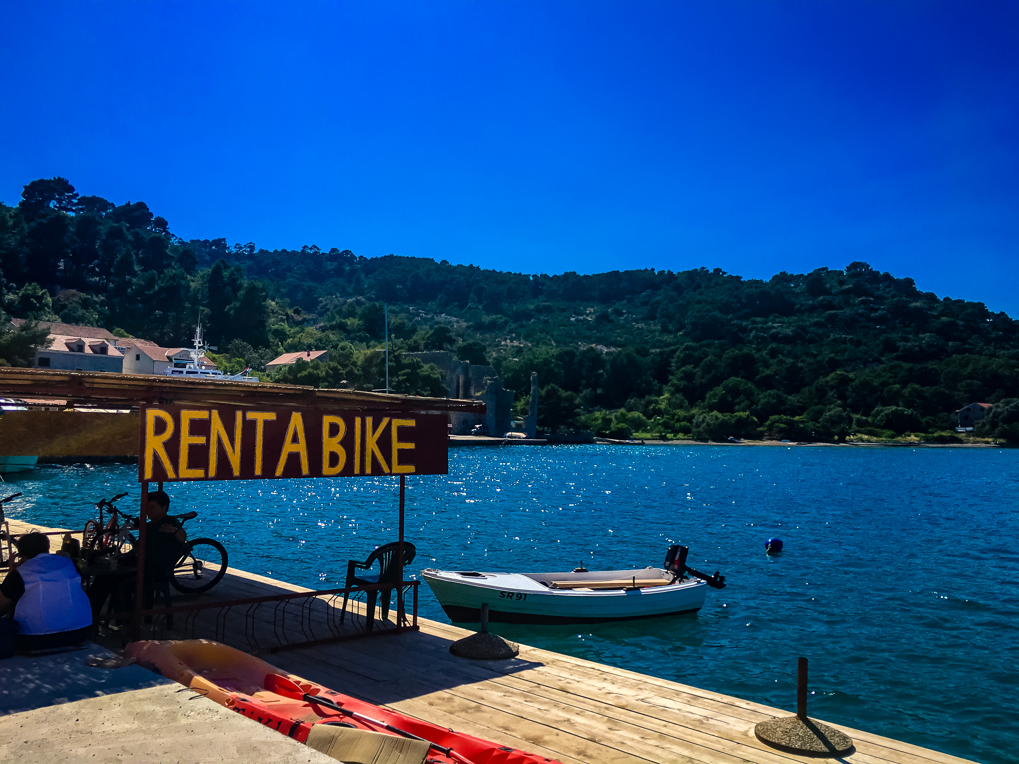 rent a bike on mljet island