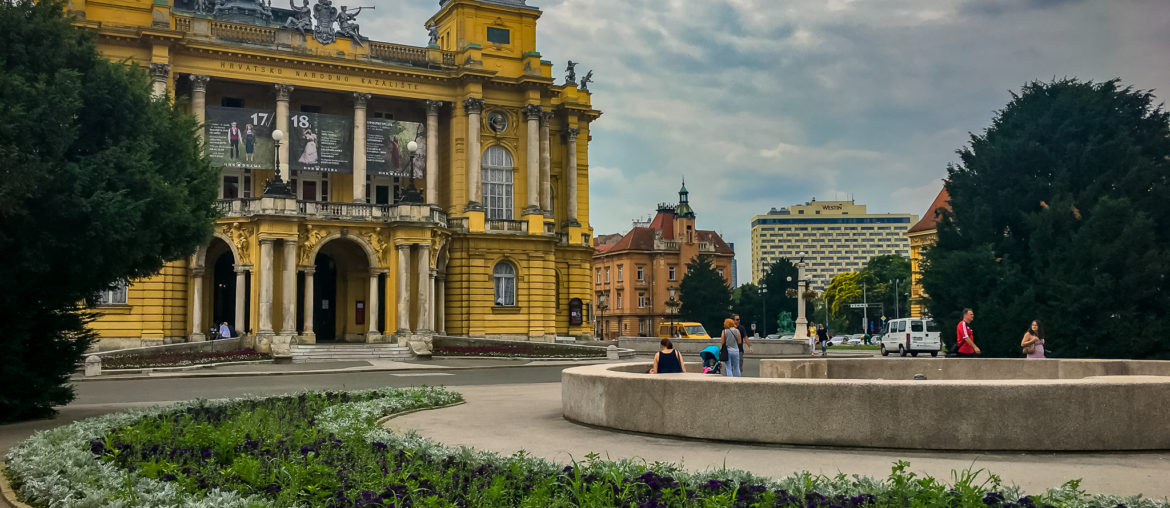 National theater Zagreb