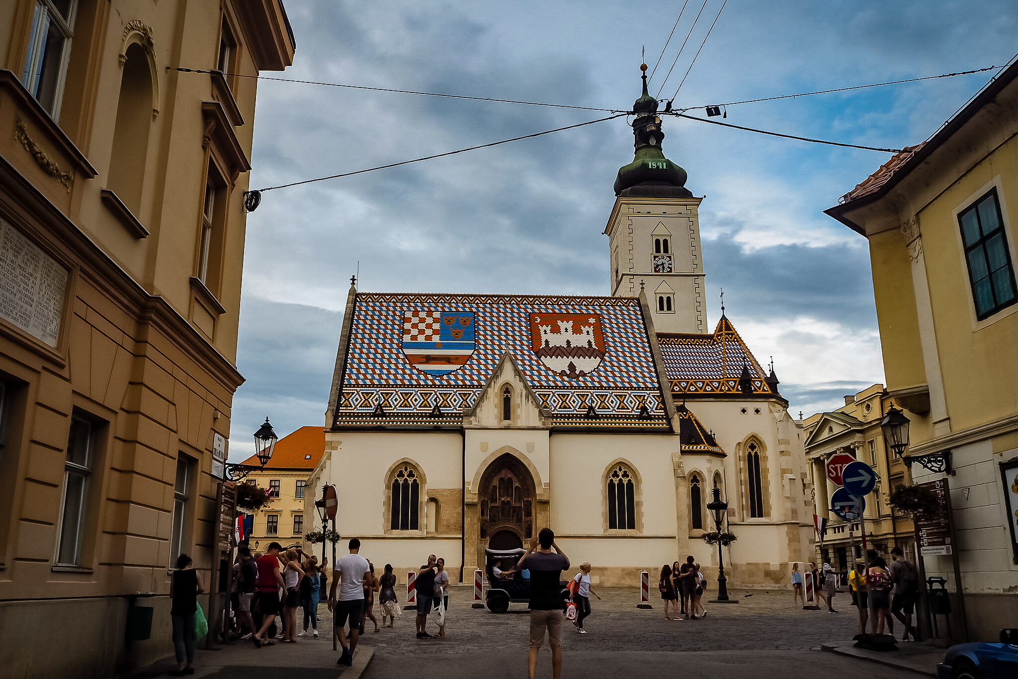 saint mark church zagreb